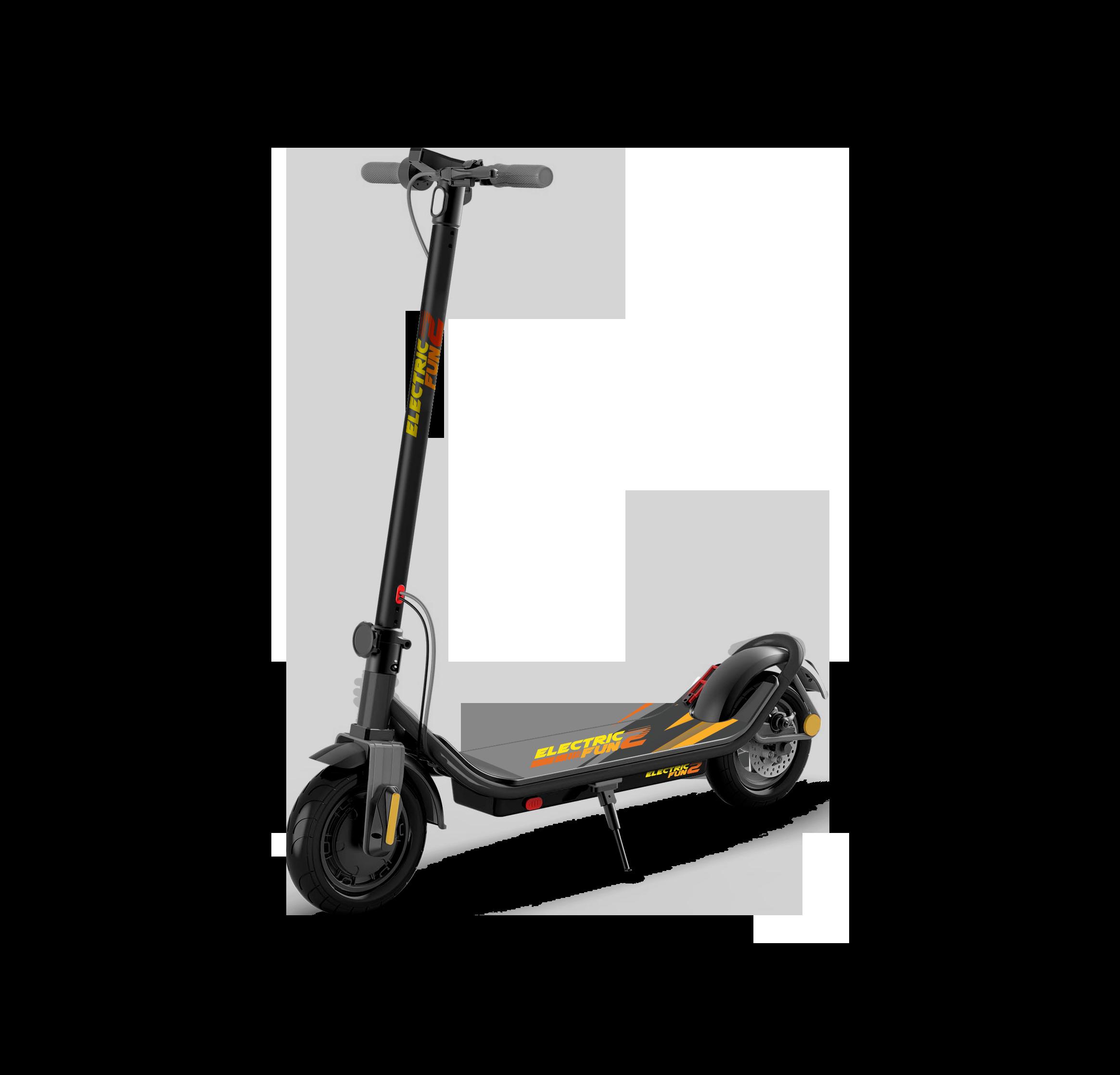 E2Fun E-Scooter black